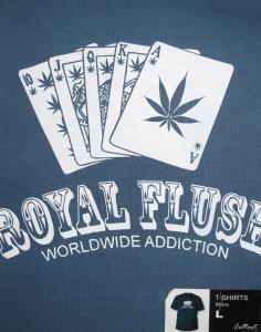 T-shirt - Royal Flush