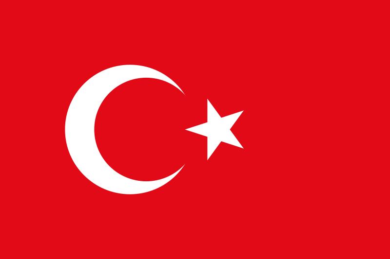 FLAGGA - Turkiet