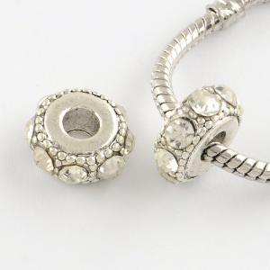 3-pack Rhinestone bead.