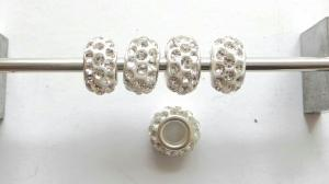 5 st. Gnistrande pärlor