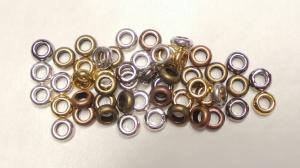 50 st. Metallpärlor mix