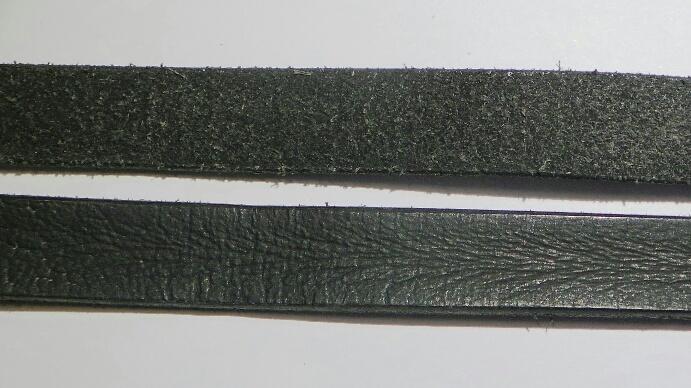 Europeisk läderrem 14 mm.