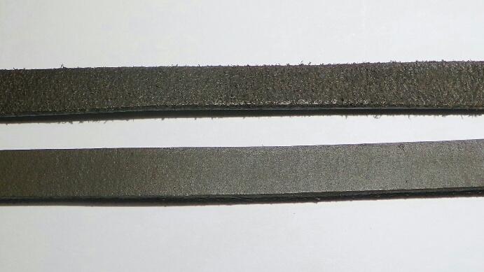 Europeisk läderrem 10 mm.