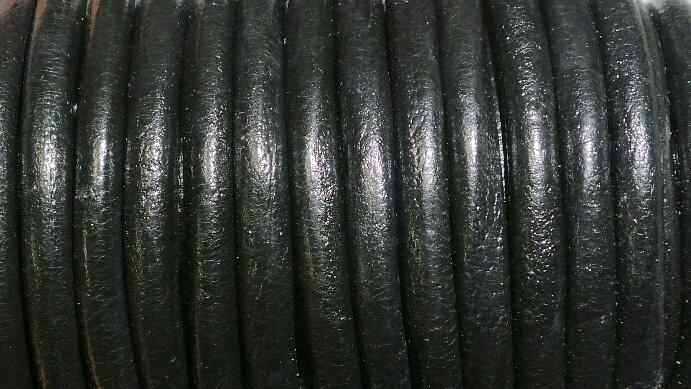 Europeiskt lädersnöre 6 mm.