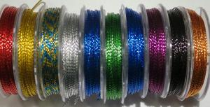 Metallic tråd 1 mm. 10.pack