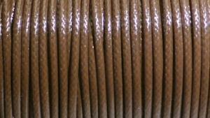 Vaxad tråd. 2 mm.