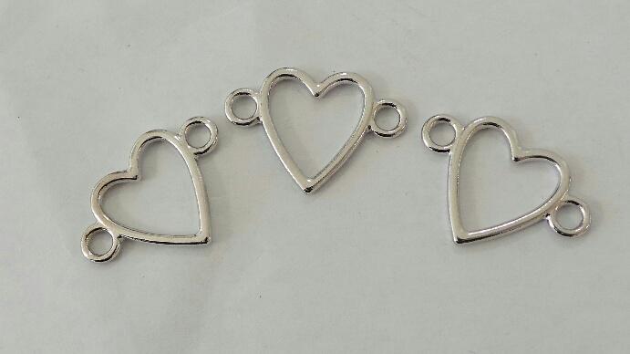 Connector Heart 3 st.
