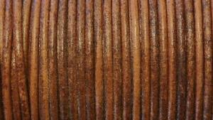 Europeiskt lädersnöre 1,5 mm.