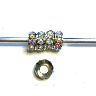 Crystal pärlor Rondelle 5-pack
