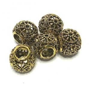 Metall pärlor 5-pack