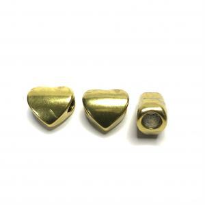 3-pack Metallpärla Hjärta