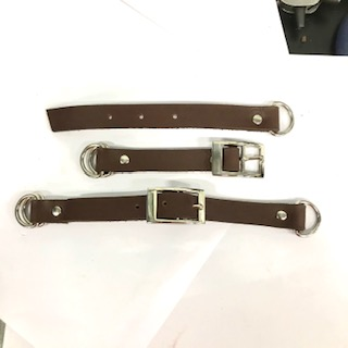 Adapter leather 13 mm. 2-delad.