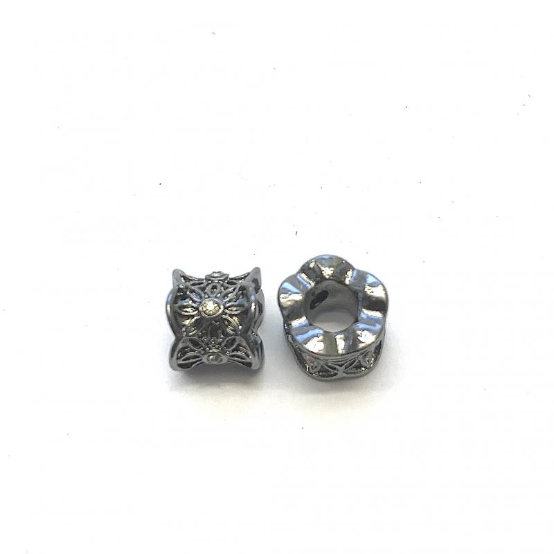 2-pack metall m. strass