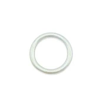 O-ring 20 mm. Chrome/mässing 2-pack