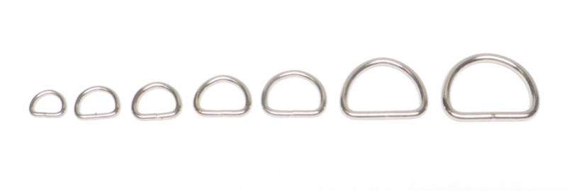 D-ring 26 mm. 5-pack.