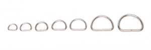 D-ring 20 mm. 5-pack