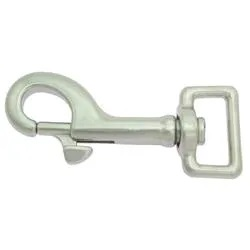 Snap Hook Stainless steel 60/17 mm.
