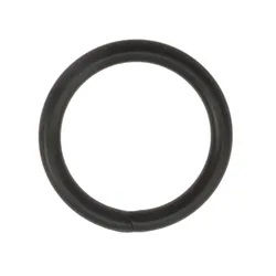Ringar 20 mm. 5-pack. svart.