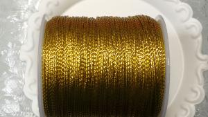Metallic tråd 1 mm. 10 m.
