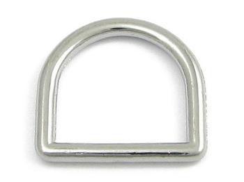 D-ring 25 mm. Hög 3-pack