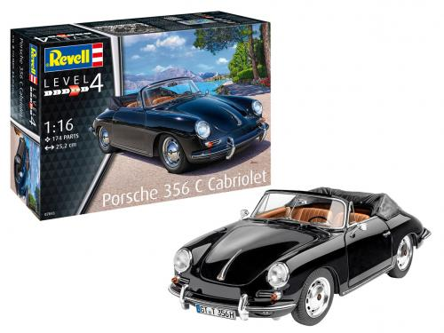 Porsche 356 Cabriolet 1/16