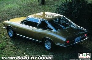 Isuzu 117 Coupe 1971 1/20