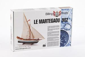 Le Martegaou - Wooden Hull 1/80