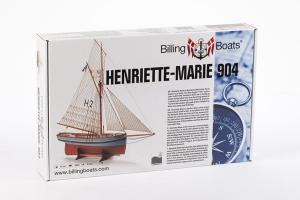 Henriette Marie - Wooden Hull 1/50