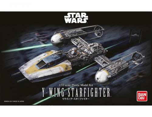 STAR WARS Y-WING STARFIGHTER 1/72