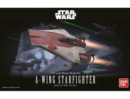 STAR WARS A-WING STARFIGHTER 1/72