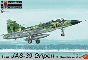 "JAS 39 Gripen ""In Swedish Service"" 1/72"