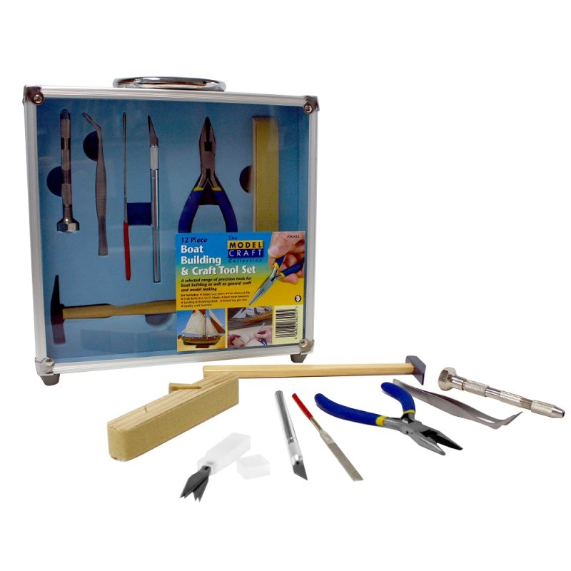 BOAT BUILDING SET Hobby Tool Set