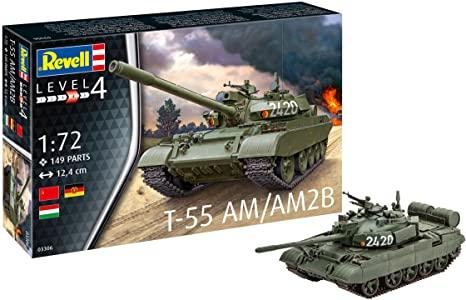 T-55 AM / T-55AM2B 1/72