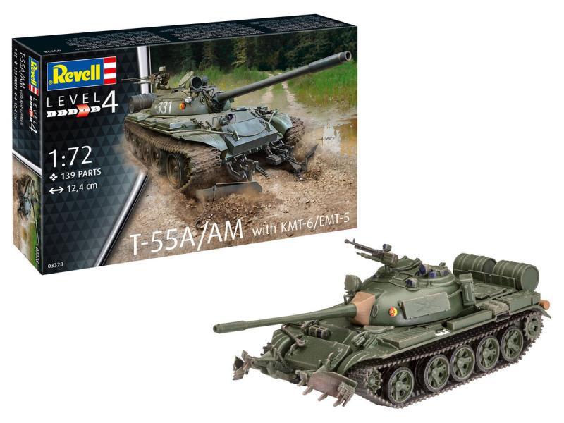 T-55A / AM 1/72