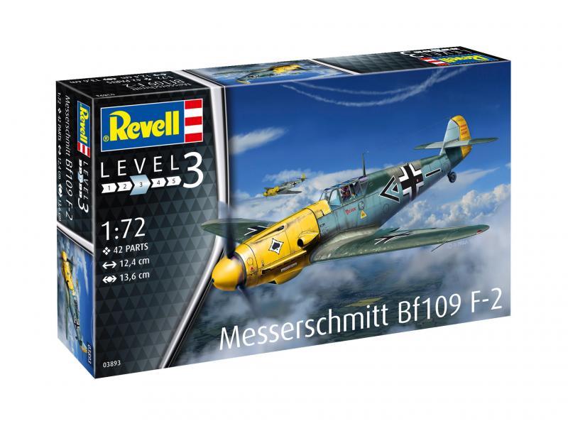 Messerschmitt Bf109 F-2 1/72