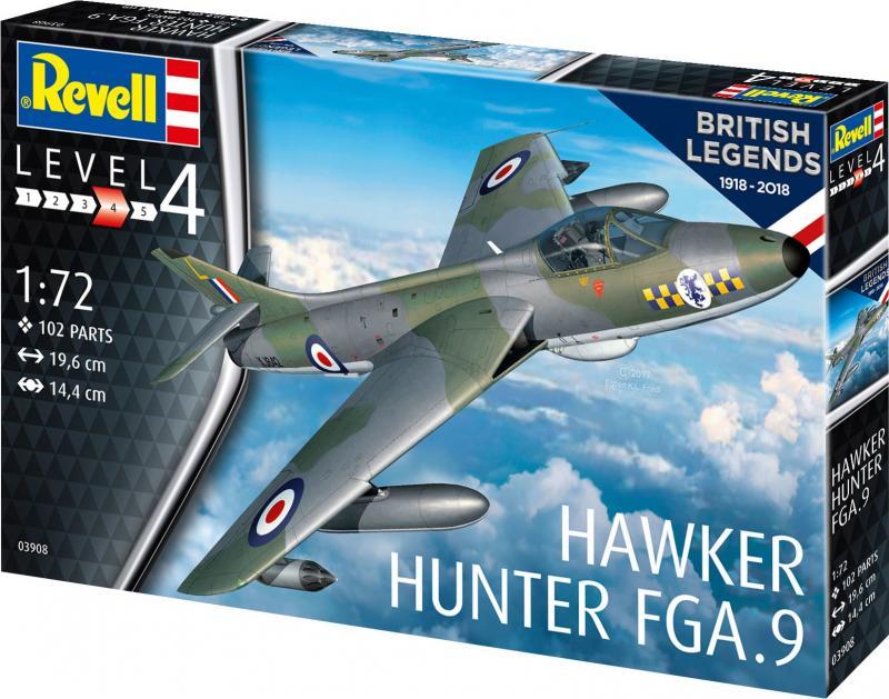 British Legends: Hawker Hunter FGA.9 1/72