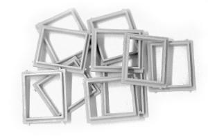 Fönsterram 20X23mm 10-pack