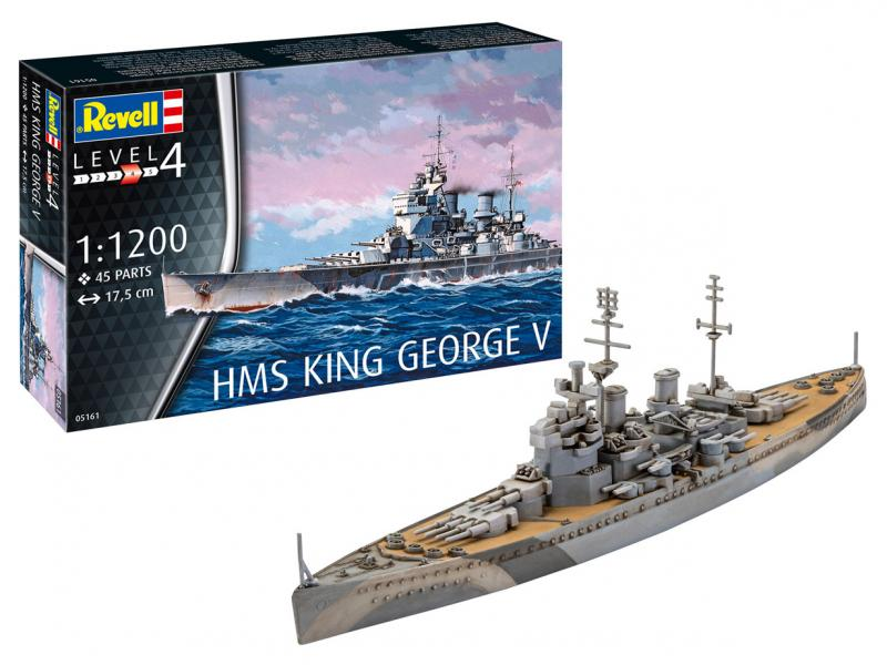HMS King George V 1/1200