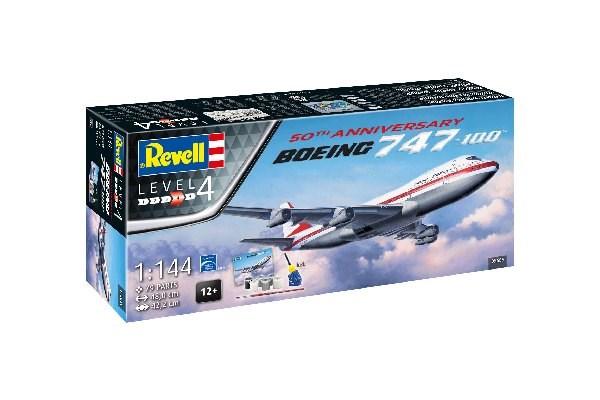 Presentset GIFT SET - BOEING 747-100  1/144