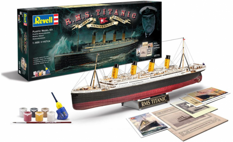 R.M.S. Titanic 100th Anniversary Edition 1/400