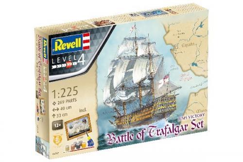 Battle of Trafalgar Set Admiral Nelson's Flagship 1/225