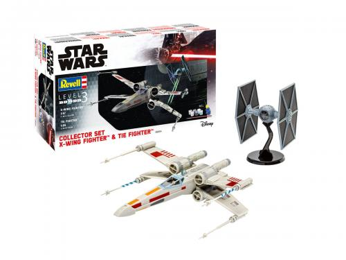 X-Wing Fighter + TIE Fighter 1/65