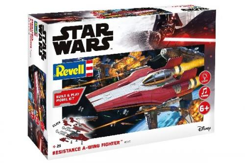 Resistance A-wing Fighter, red 1/44