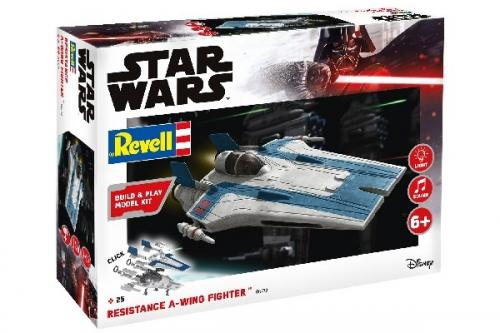 Resistance A-wing Fighter, blue 1/44