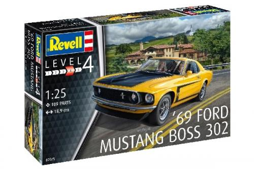 1969 Ford Mustang Boss 302 1/25