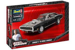 Fast & Furious - Dominic's 1970 Dodge Charger 1/25