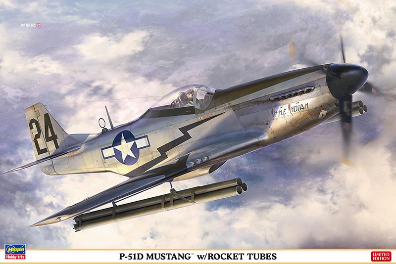 P-51D MUSTANG™ w/ROCKET TUBES 1/32