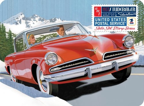 1953 STUDEBAKER STARLINER - USPS WITH COLLECTIBLE TIN 1/24
