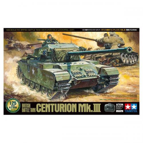 R/C BRITISH BATTLE TANK CENTURION MK.III 1/25
