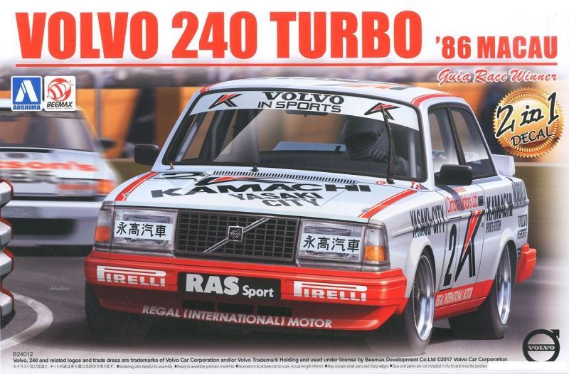 Volvo 240T Gr. A utan/etching parts 1/24